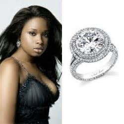 Jennifer Hudson   Celeb Engagement Rings   Pinterest