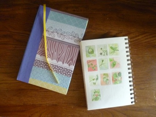 Handbound sketchbook