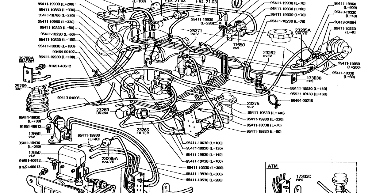 1995 Toyotum Tacoma Engine Diagram - Wiring Diagram Schema