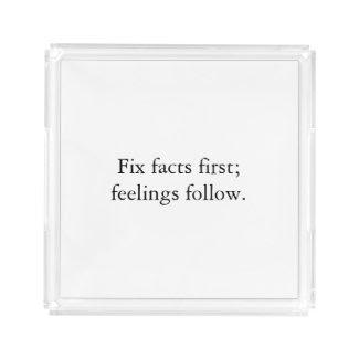 Fix Facts First Perfume Tray