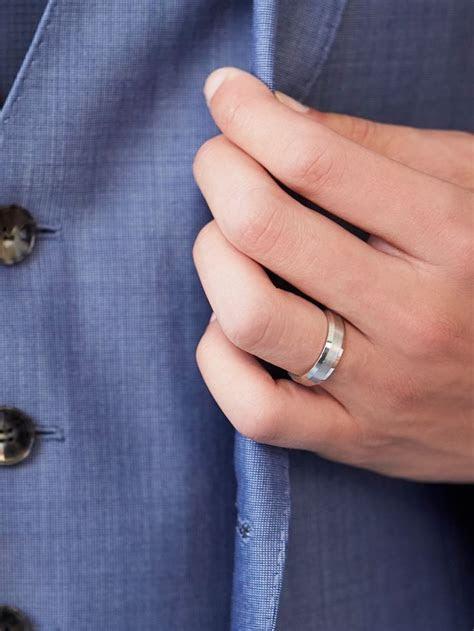 165 best Men's Wedding Rings images on Pinterest   Blue
