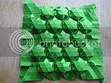 PCOC origami tesselation