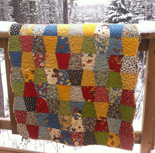 Cora Quilts American Jane Tumbler Baby Quilt