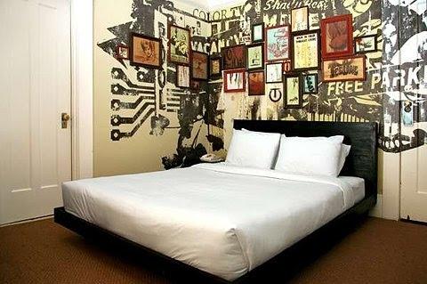 bedroom, decoracao, design, graffiti, interior, wishlist - image ...