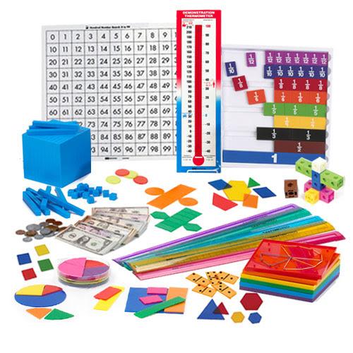 Overhead Math Kit - Grade 4 - Math Manipulatives, Supplies ...
