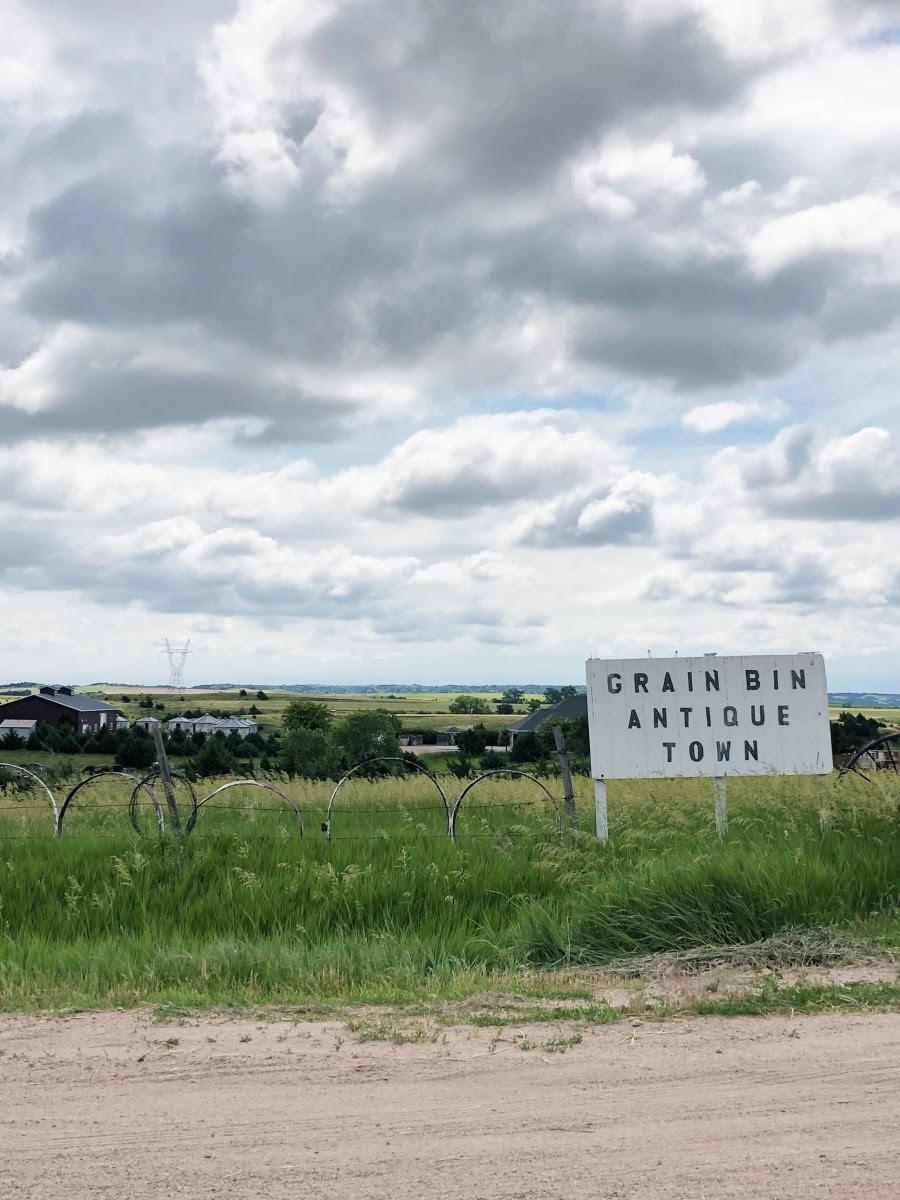 Grain Bin Antique Town North Platte Nebraska Her Heartland Soul - Her Heartland Soul