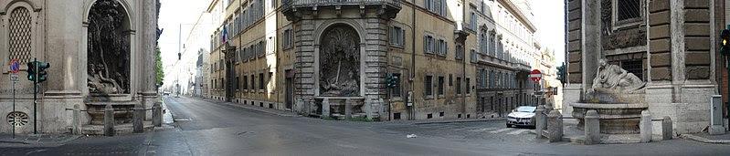 Fil: Piazza Quattro Fontane 270deg Pano.jpg