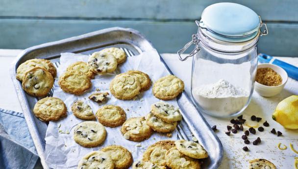 BBC Food - Recipes - Mini three-way biscuits