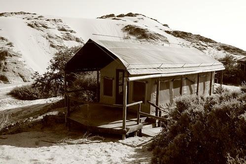 Tent at Camp, Skeleton Coast