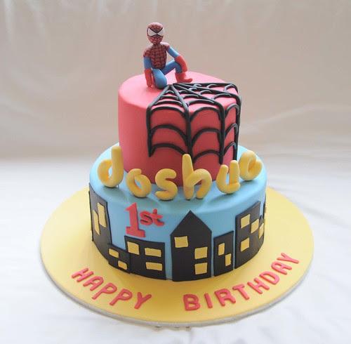 spiderman cake mold