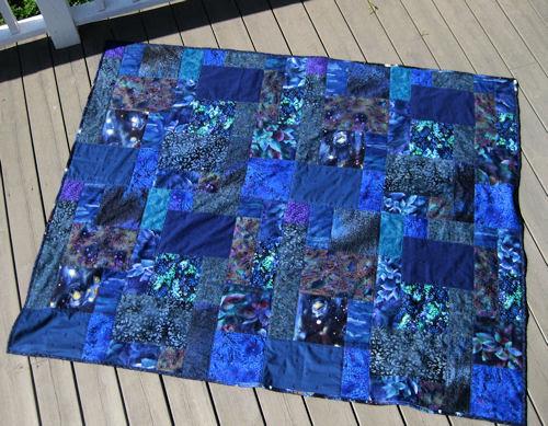 blue quilt :: blått #1