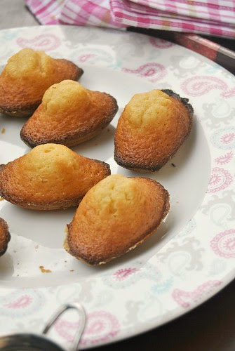 Caramel Madeleines