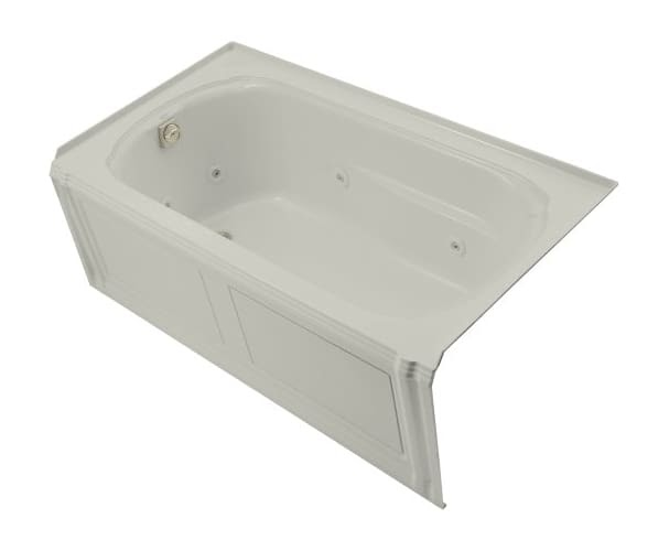 Kohler Portrait 5 Ft Whirlpool Tub In Ice Grey 1109 Hl 95