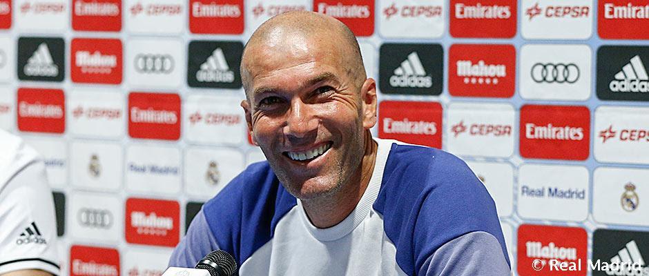 Rueda de prensa de Zidane en Montreal