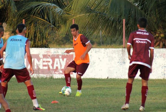 América-RN - Memo, volante (Foto: Canindé Pereira/Divulgação)