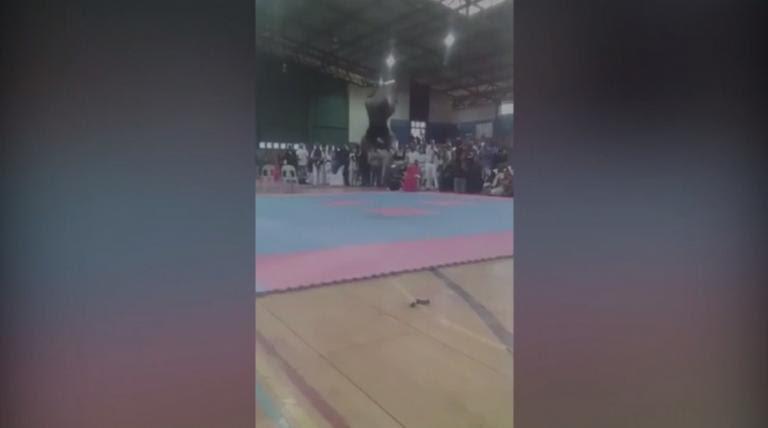Πρωταθλητής του bodybuilding πέθανε μπροστά στο κοινό – Το μοιραίο backflip [vid] | Newsit.gr