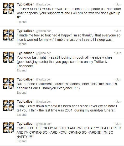 typicalben tweets after results
