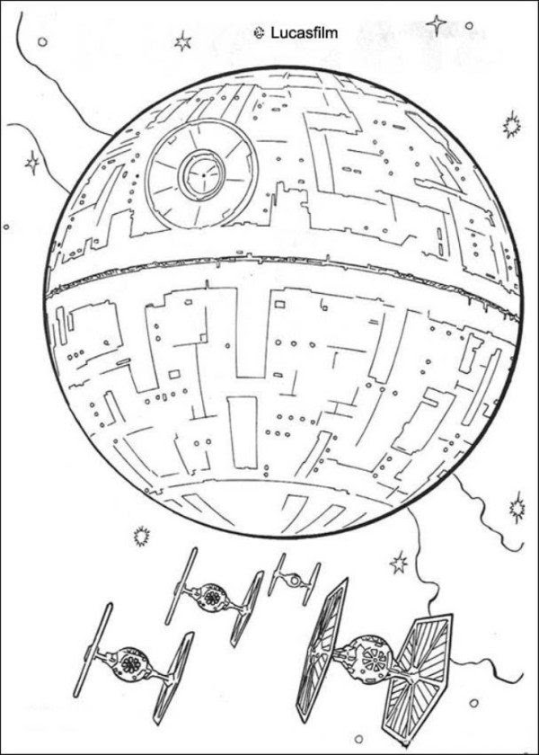 Download Star Wars Battle Coloring Pages at GetColorings.com   Free printable colorings pages to print ...
