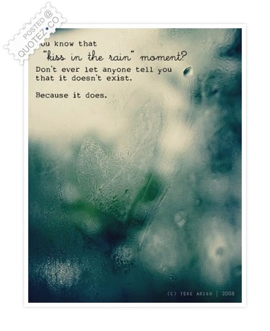 Kiss In The Rain Love Quote Quotezco