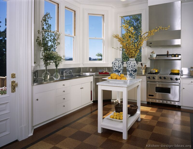 Pictures of Kitchens - Traditional - White Kitchen ...