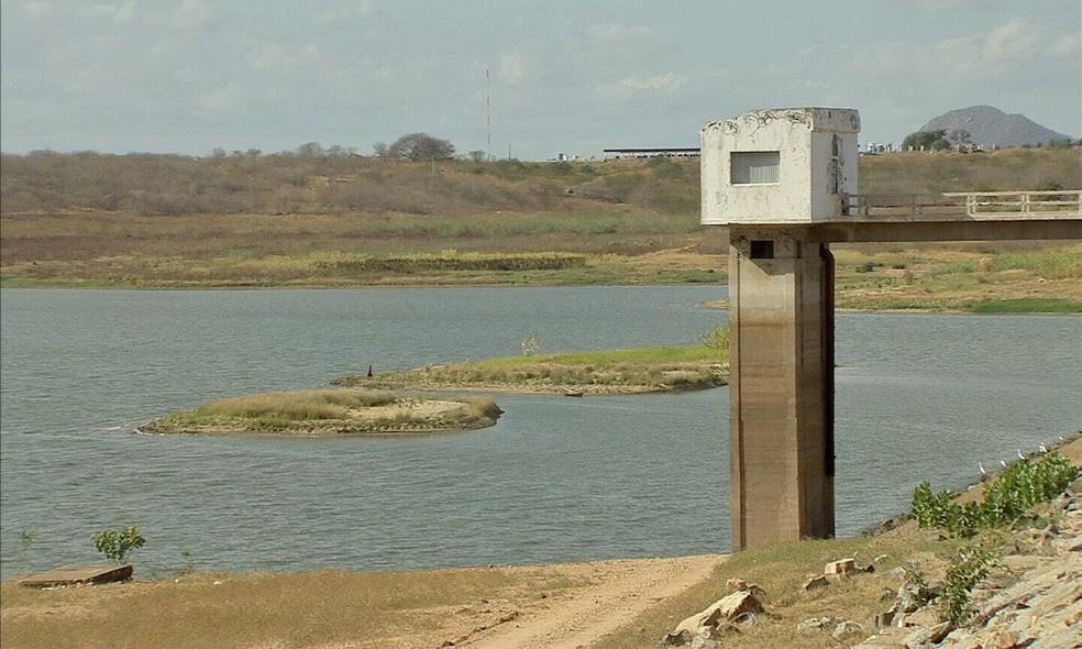Volume de chuva no Ceará é o maior em cinco anos, mas ainda abaixo da média (Foto: TV Verdes Mares/Reprodução)
