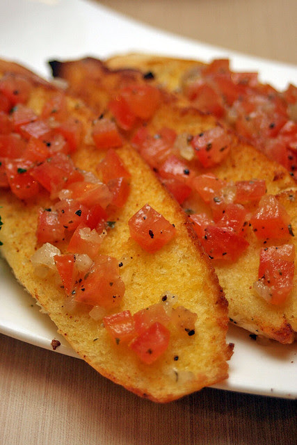 Bruschetta with Tomatoes