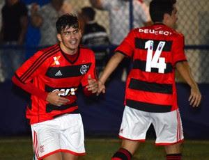 Rubro-Negro não deu chances ao Vasco (Foto: Eduardo Aires/JornalF7.com)