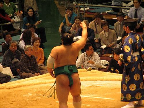 Sumo Wrestler - Osaka, Japan