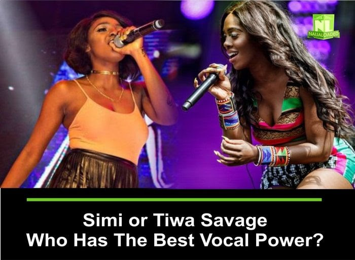Simi Vs Tiwa Savage, Who Has The Best Vocal Skills?