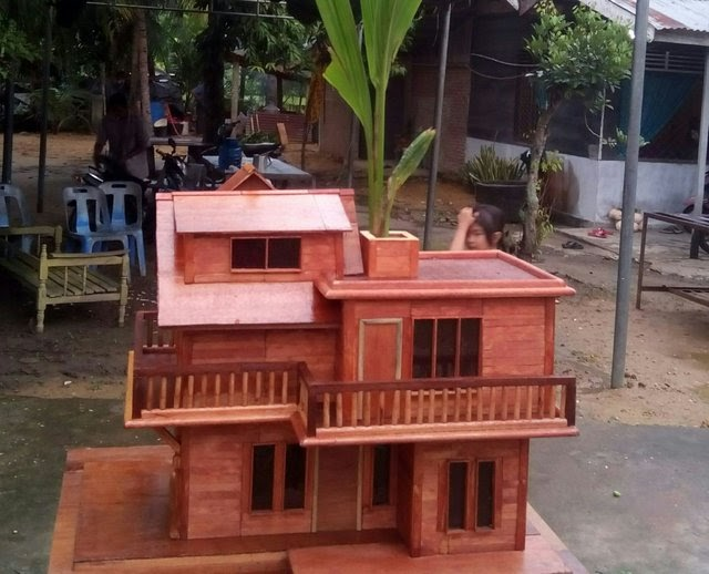 Desain Rumah Tingkat Dari Stik Es Krim - Info Terkait Rumah