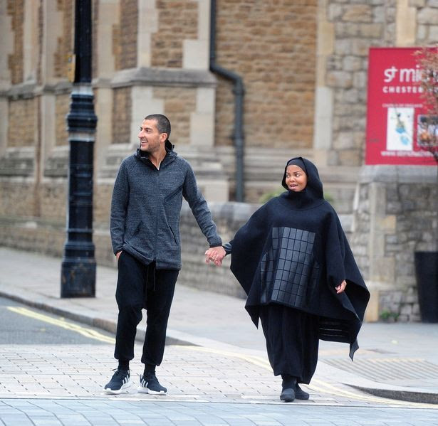 Heavily pregnant Janet Jackson and her husband Wissam Al Manna make their first public appearance since announcing her pregnancy
