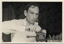 Ilya Schor Working 1940s.jpg