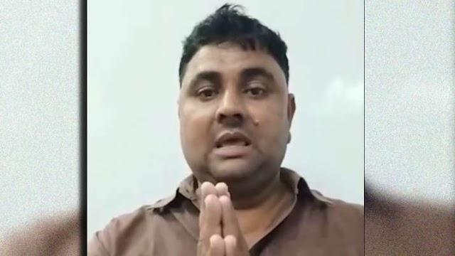बलिया गोलीकांड के आरोपी धीरेंद्र ने जारी किया वीडियो, खुद को बताया साजिश का शिकार