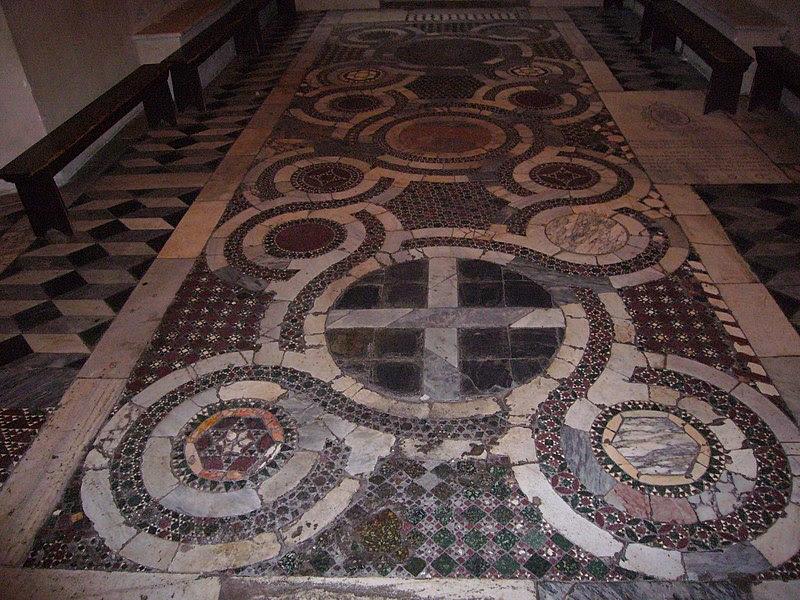 File:Celio - ss Quattro - oratorio s Silvestro - cosmatesca 1070926.JPG