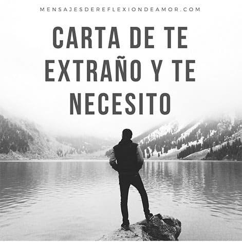 Mensajes De Te Extrano Y Te Necesito Tanto Amor Mio
