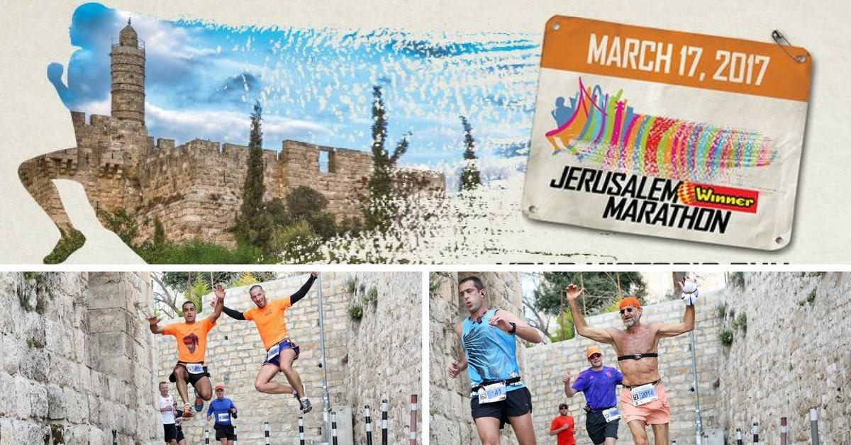Maratona de Jerusalém promove paz