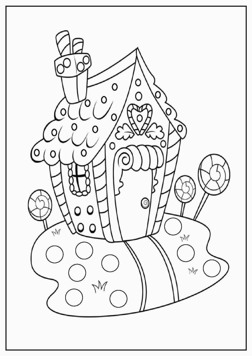 Twas The Night Before Christmas Printable Coloring Pages ...