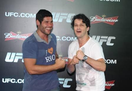 Dudu Azevedo com Marcelo Serrado
