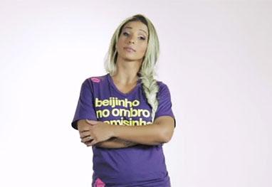 Valesca Popozuda estrela campanha contra preconceito - Reprodução/YouTube