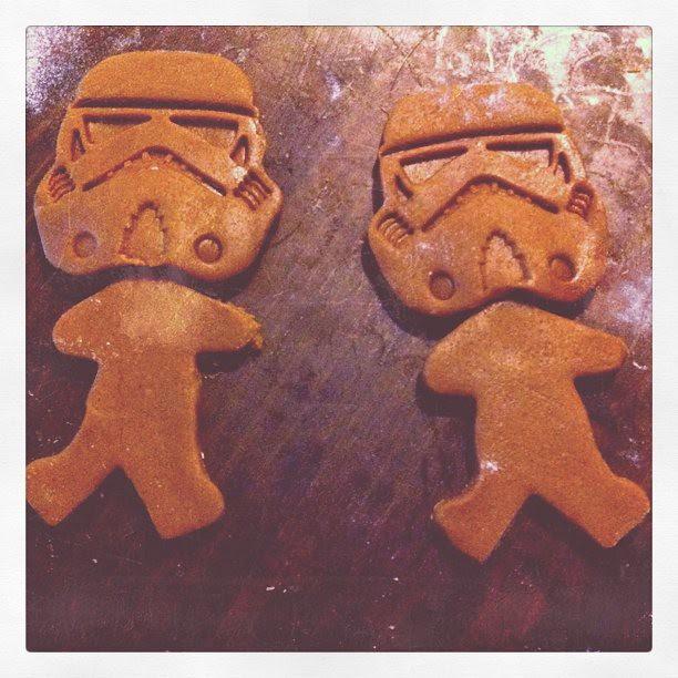 Gingerbread Stormtroopers