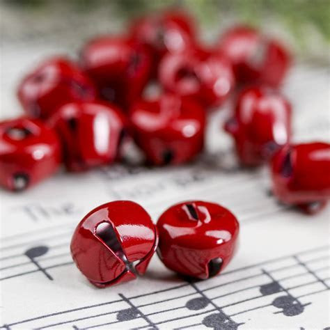Red Jingle Bells   Bells   Basic Craft Supplies   Craft