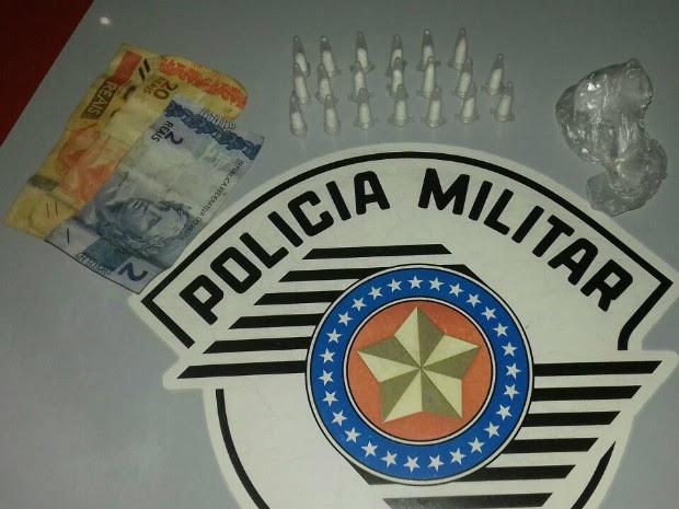Adolescentes já tinham sido detido por tráfico outras vezes (Foto: Divulgação/Polícia Militar)