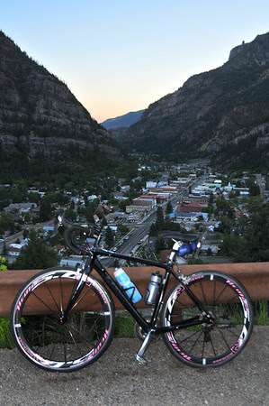 Day 4 2010 RtR, Ouray to Durango, 2nd hardest ride I've ever done, three mountain passes to go.