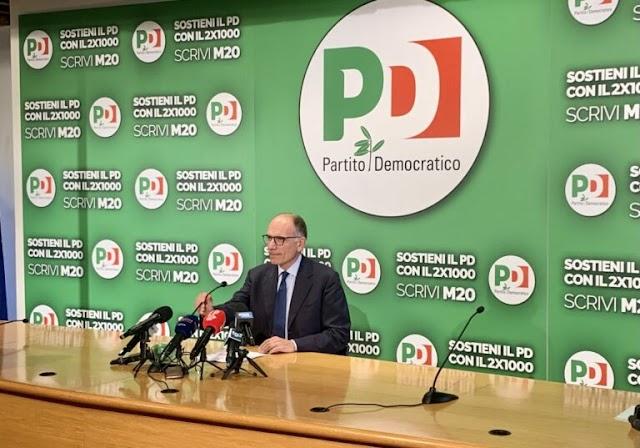 """Letta """"Il voto rilancia il Pd e rafforza il Governo"""""""