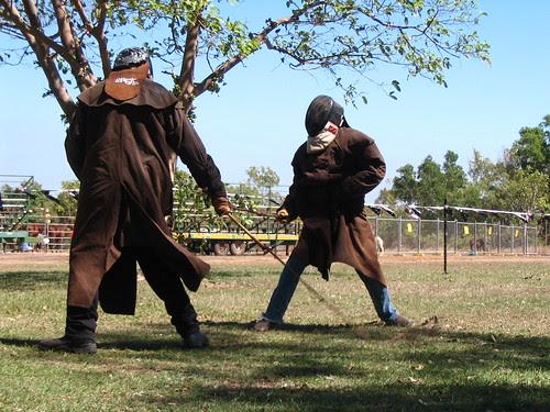 whip fighting Darwin Show