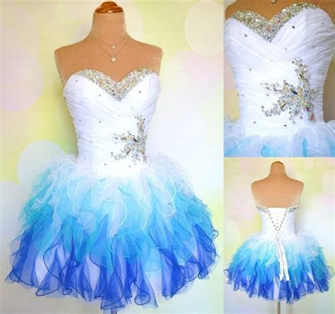 In stock cheap colors white/royal/sky blue cute short