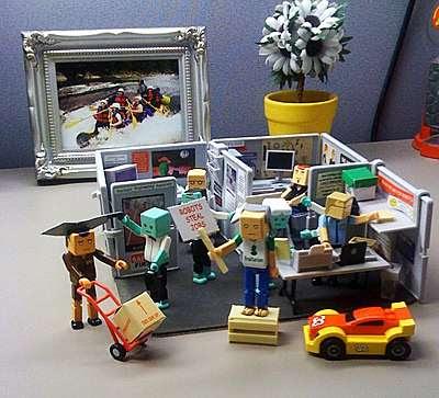 LEGO Cubicles