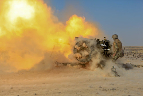 Afghan Army plans, executes artillery training [Image 2 of 6] by DVIDSHUB