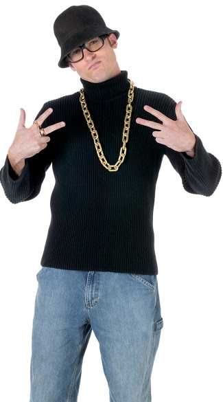 old school rapper kit rapper costume kit