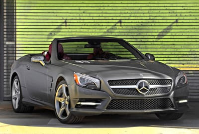 2013 Mercedes-Benz SL550 | Boston Mercedes-Benz Reviews ...